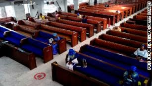 Churches and mosques in Nigeria are set to reopen as government eases coronavirus restrictions on religious gatherings.